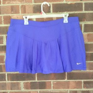 Like new purple Nike skirt with built in shorts